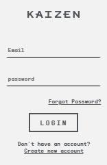 Kaizen extracts rewards login