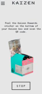 Kaizen extracts rewards sticker